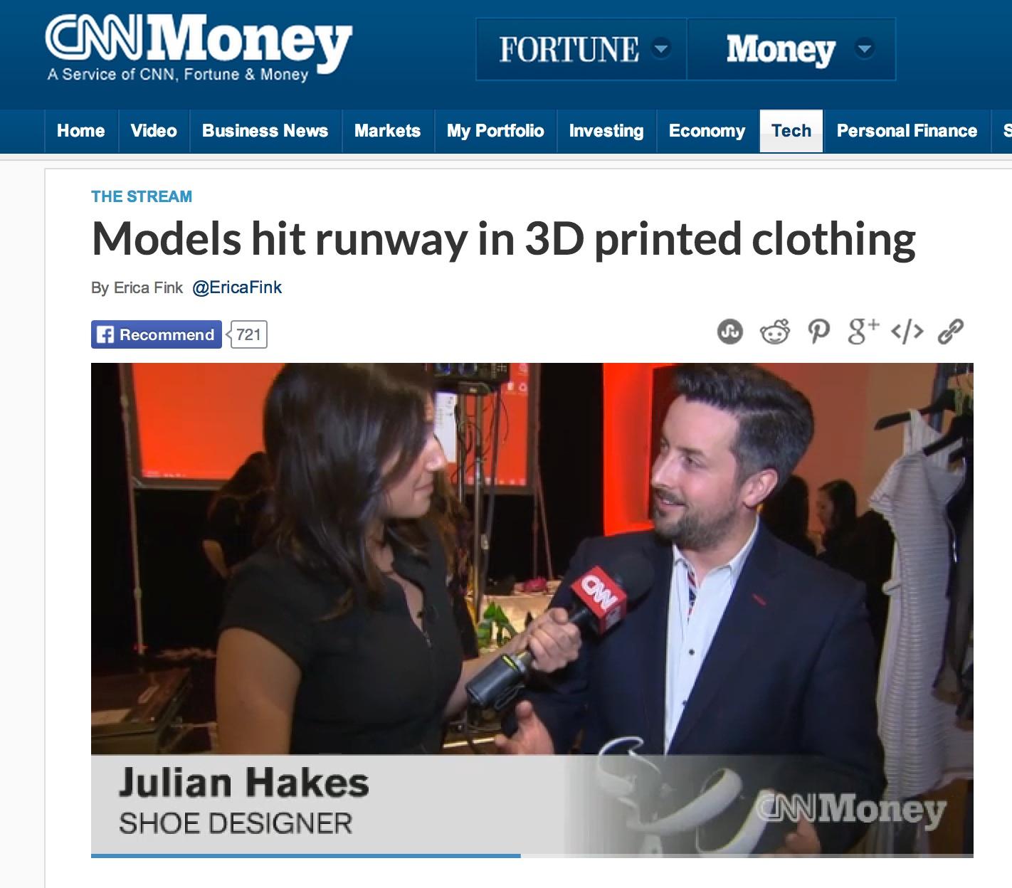 3D Printshow on CNN