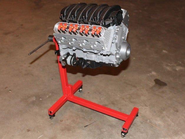 Chevy Camaro LS3 V8 Engine [Source: Thingiverse ]