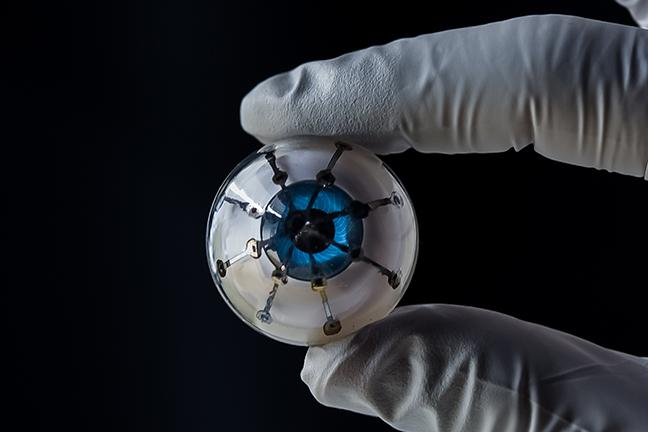 """3D Printed Optoelectronic """"Bionic Eye"""""""