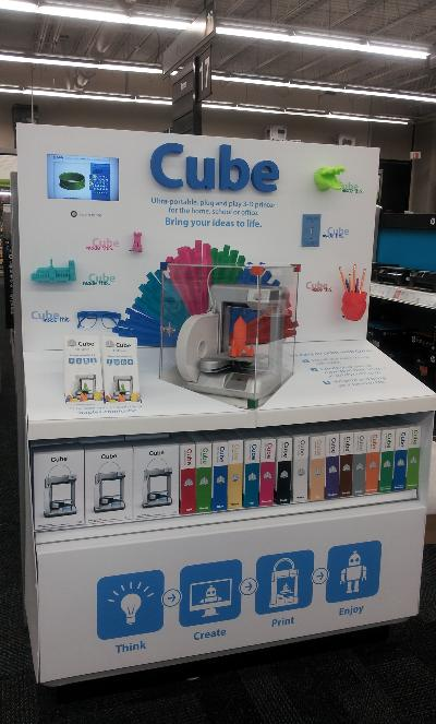 The Cube Spotted At Staples