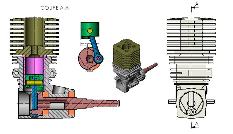 Engine CAD Model