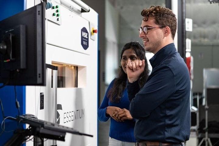 The new HSE 180•S 3D printer [Source: Essentium]