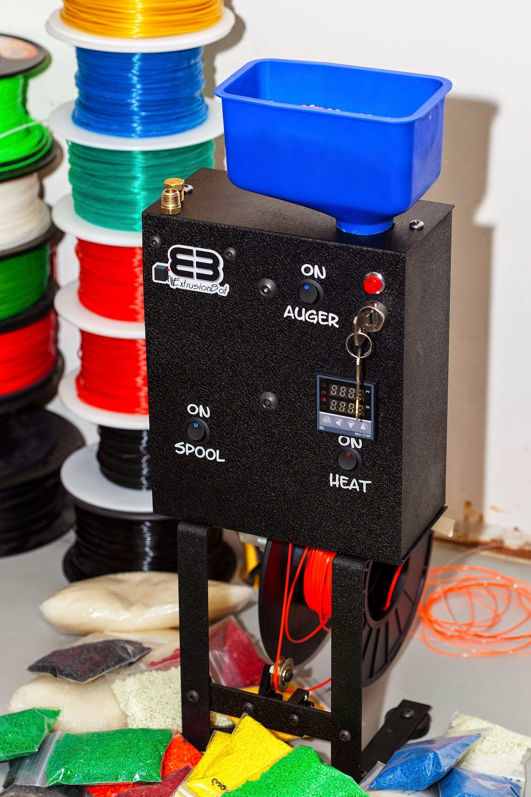 Make Your Own 3D Printer Filament with the ExtrusionBot