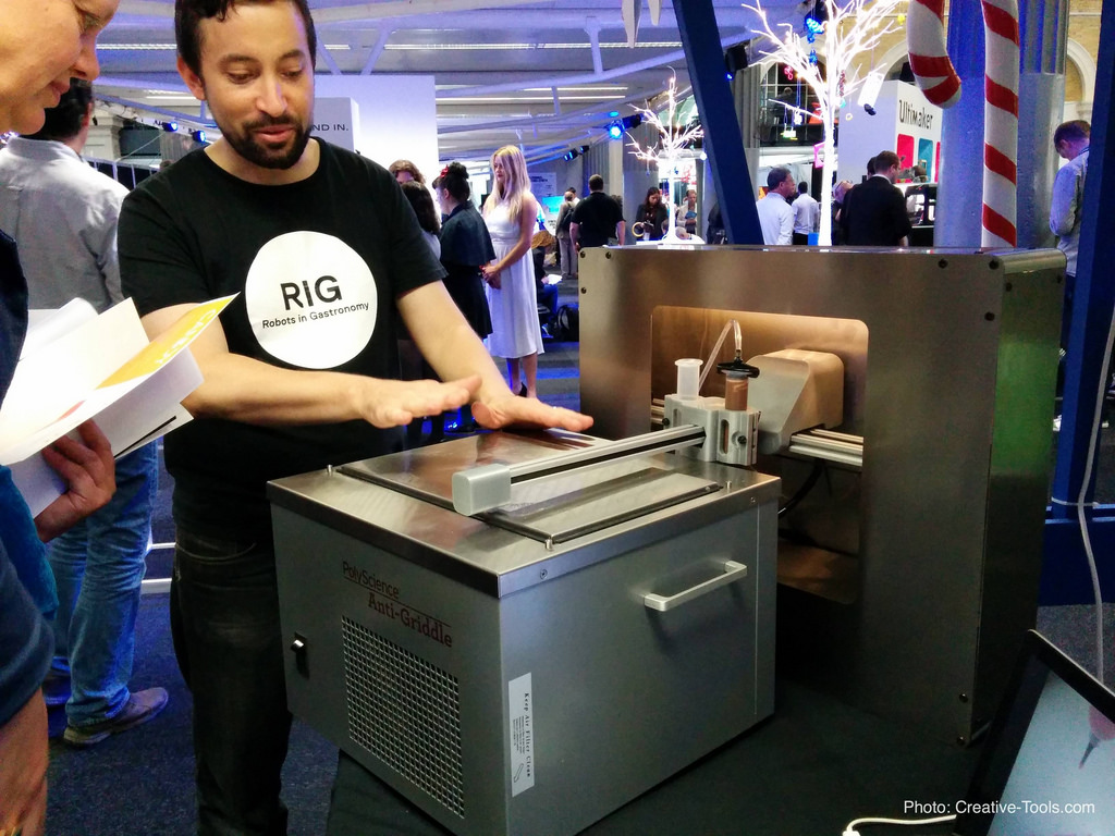 , 3D Printing Has Expanded into the Frozen Dessert Market
