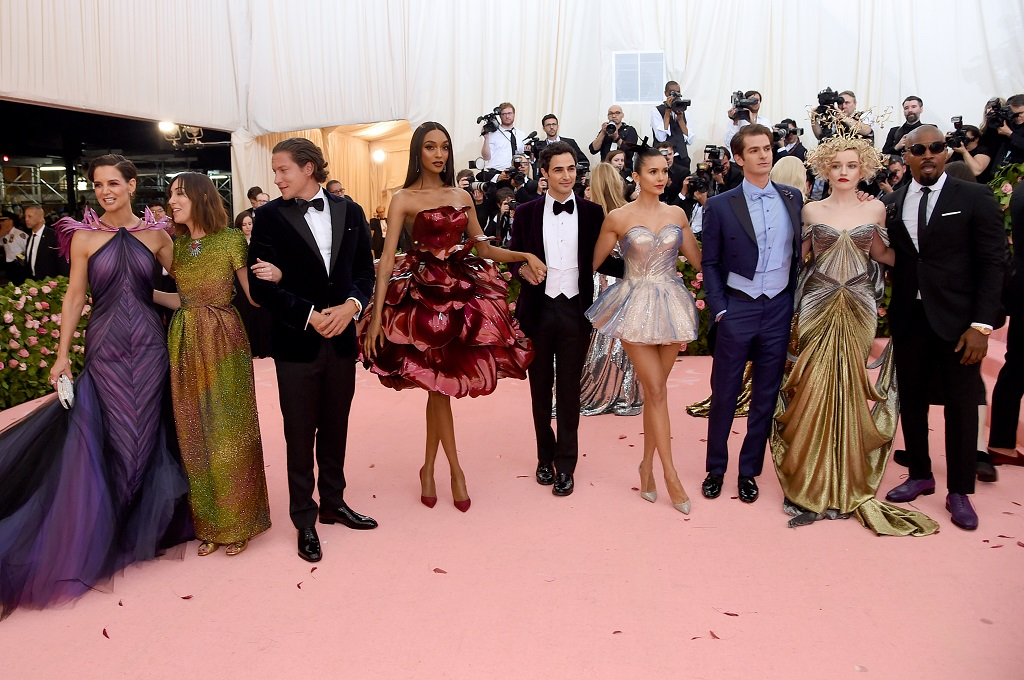 3D printed gowns and accessories at the 2019 Met Gala [Image: Getty Images]