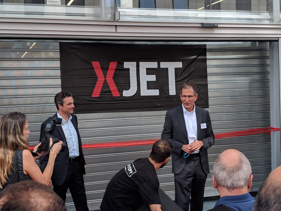 A Grand Grand Opening for XJet