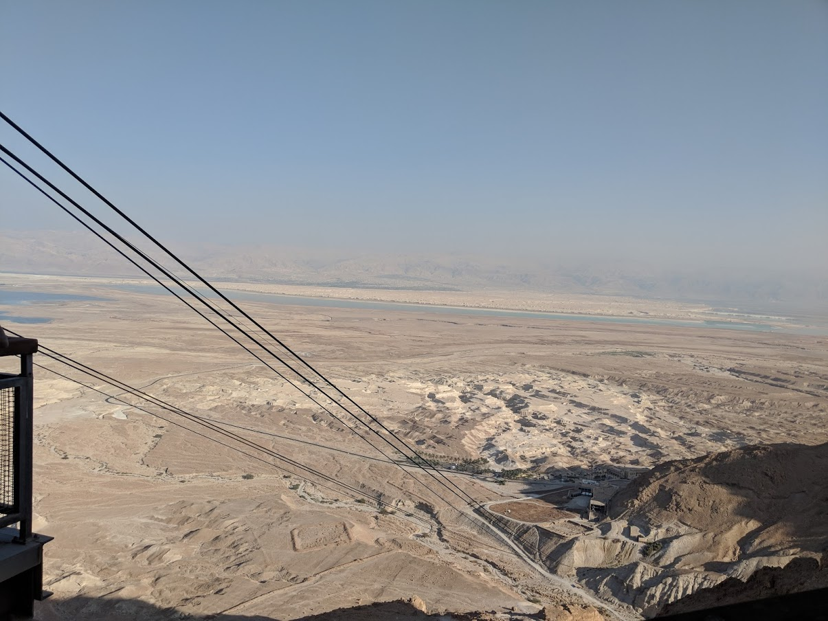 View from the top of the cable car