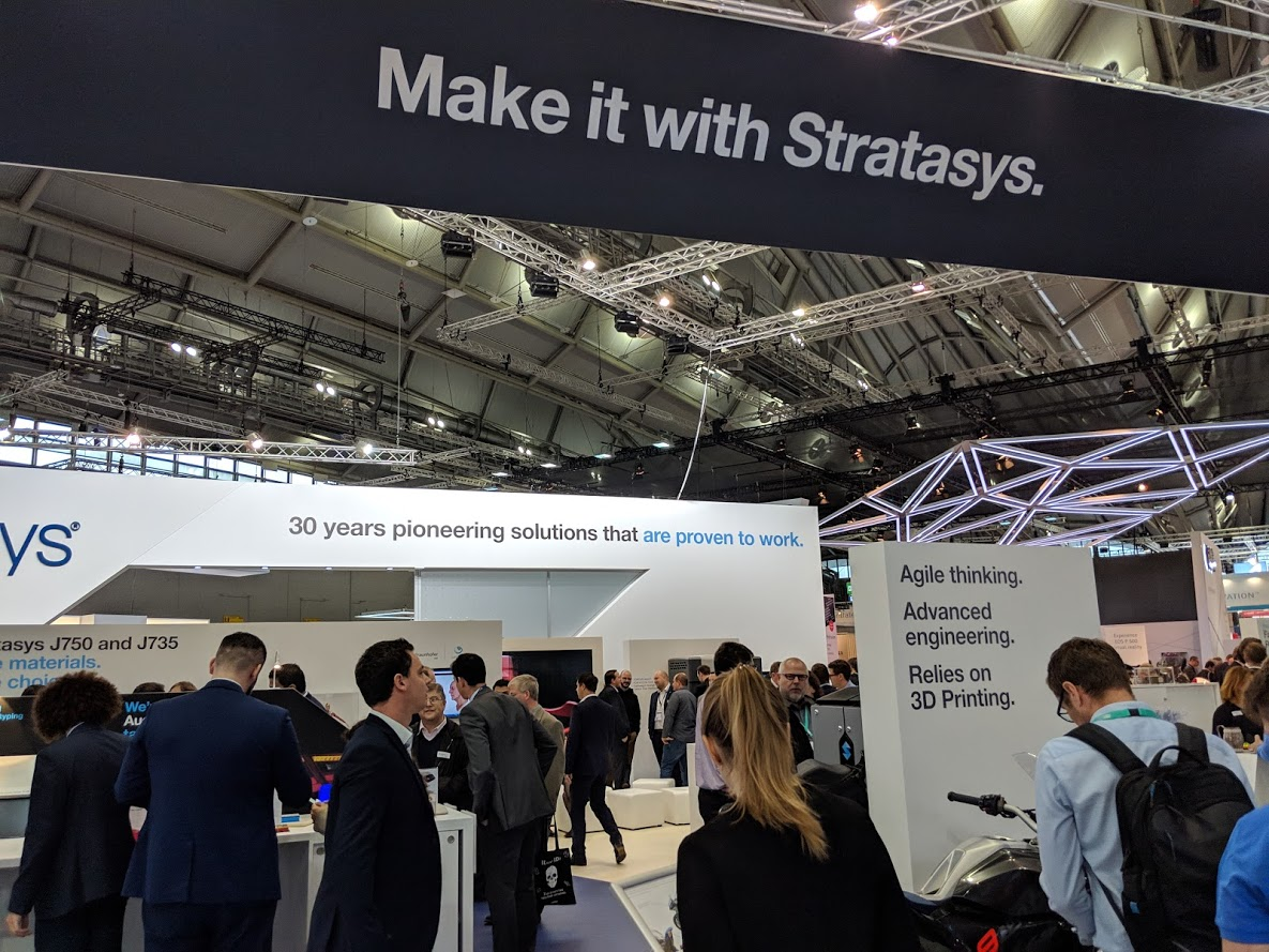 , Stratasys Answers and Raises Questions