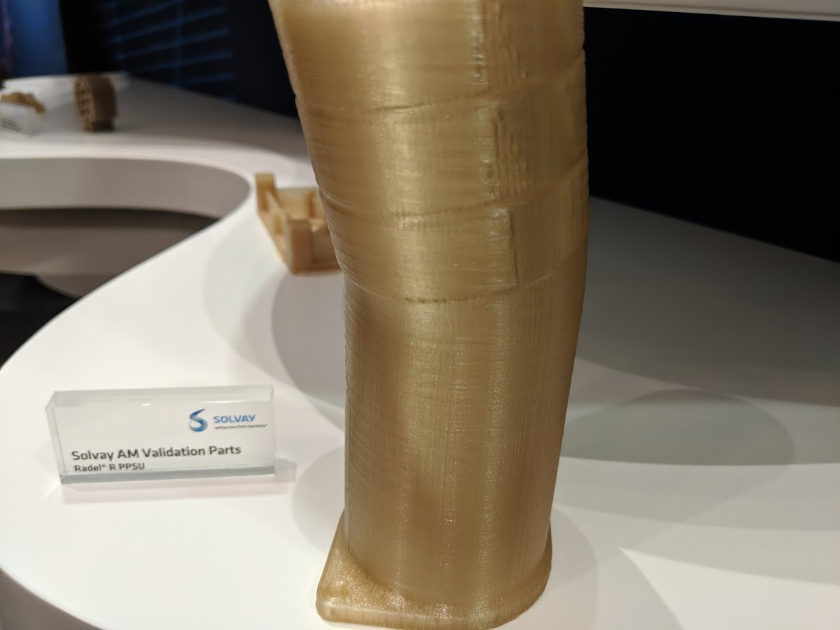Solvay's Expanding Portfolio Highlights Market Need for High-Performance 3D Printing Materials