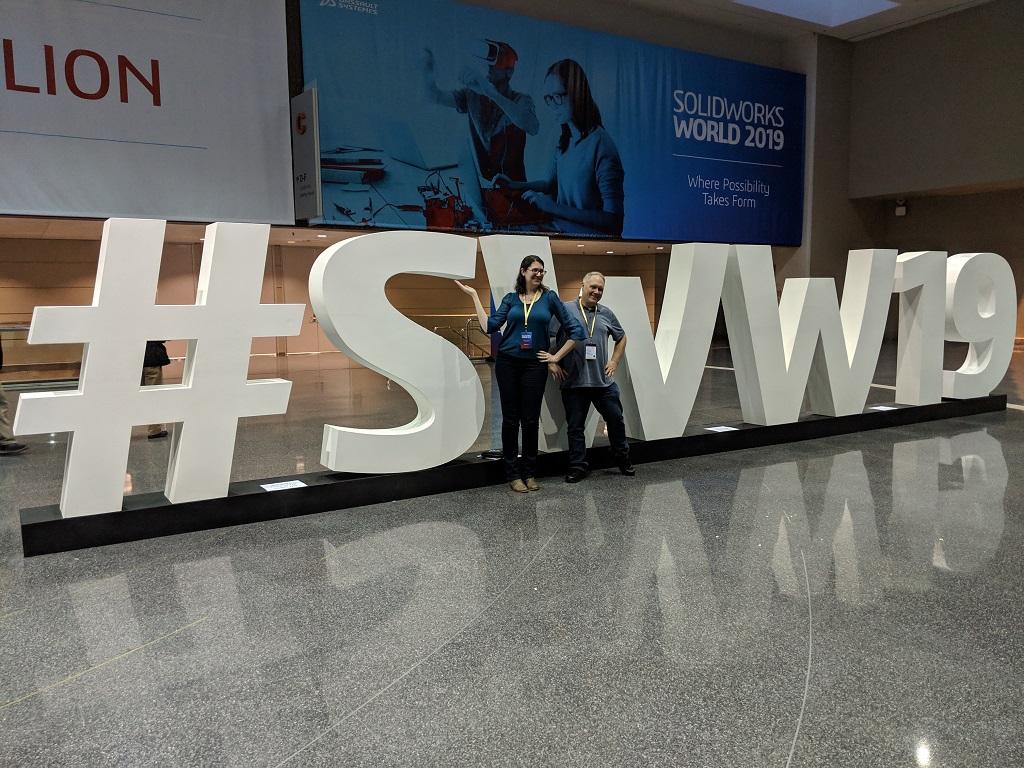 Sarah, Kerry, and #SWW19 [Image: Fabbaloo]