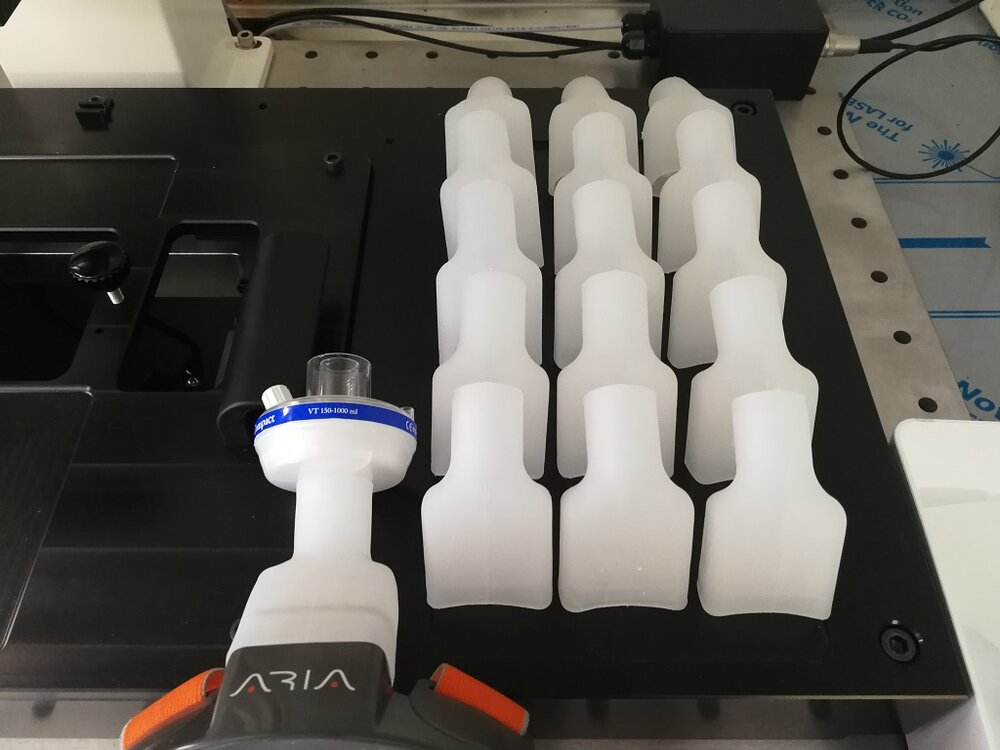 3D Printing + Injection Molding: COVID-19 Collaboration Scales Up Within A Week
