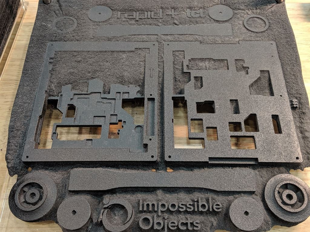 Impossible Objects' New Machine, Materials Partnership, Funding