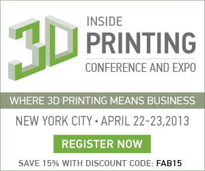 Fabbaloo Attends Inside 3D Printing