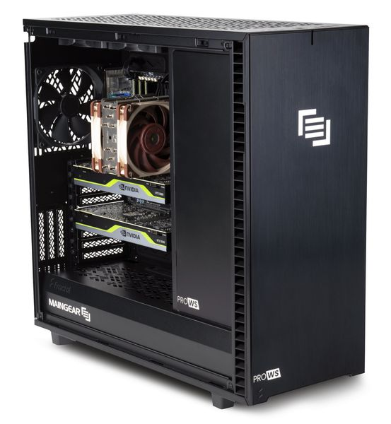 MAINGEAR Pro WS Workstations Bring Big Power to 3D Professionals