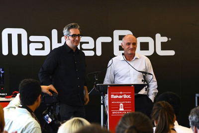 MakerBot and Stratasys Close
