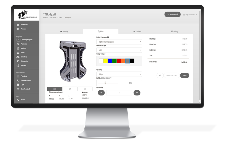 The MakerOS Autoquoter platform [Image: MakerOS]