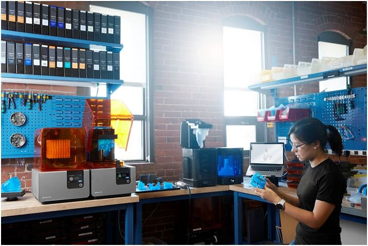 Fabrication Lab for Additive Manufacturing (Source: FormLabs)
