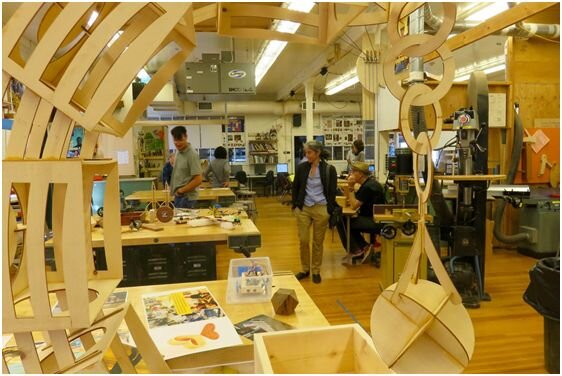 Tam Makers' New Makespace in Mill Valley (Source: Fabrice Florin via Flickr)