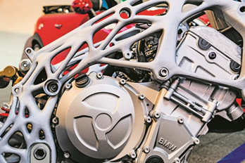 3D Printing for Motorcycles and Components