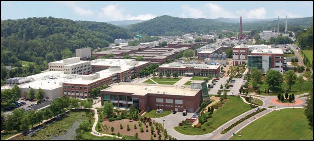 Aerial view of ORNL main campus | Oak Ridge National Laboratory ...