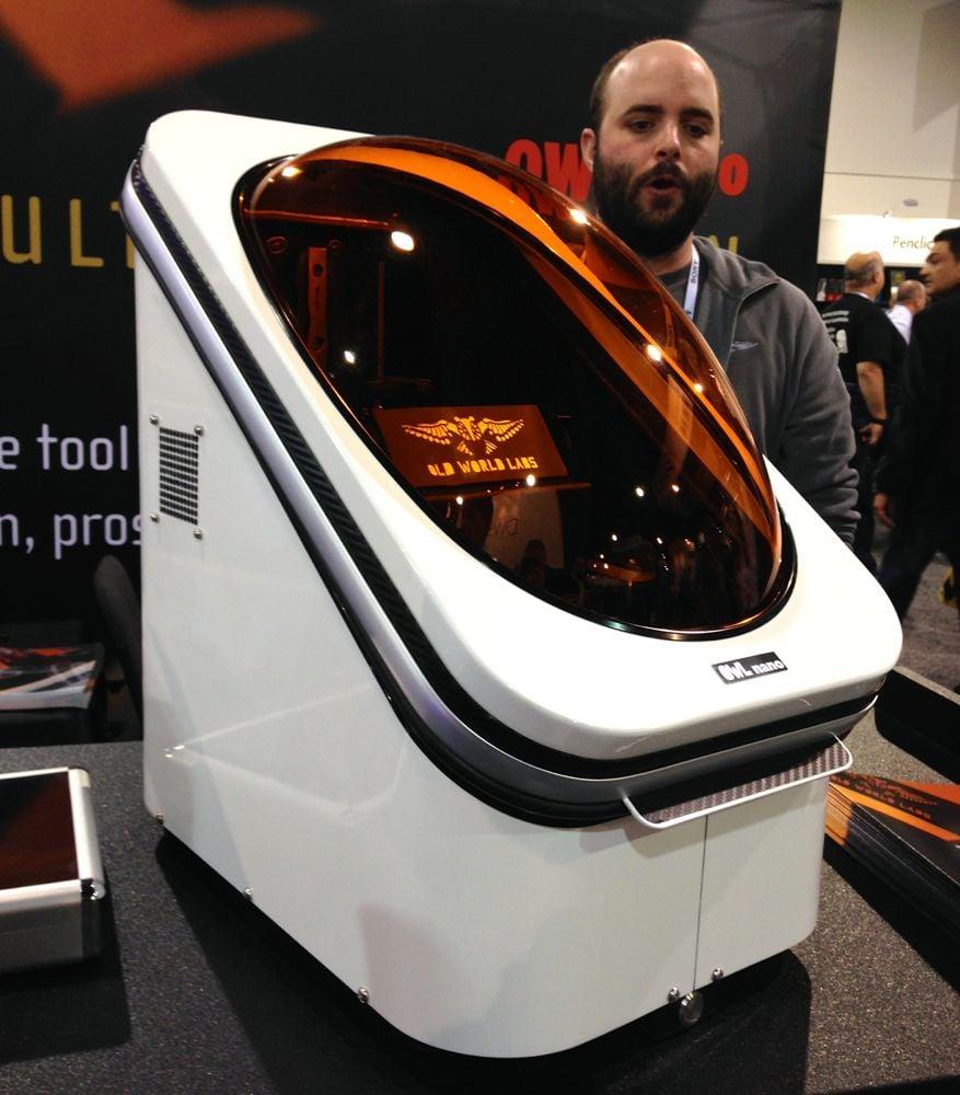 The OWL Nano 3D Printer