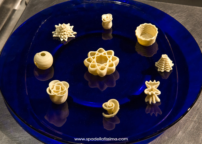 Pasta and 3D Printing: Ingredients for a Successful Recipe