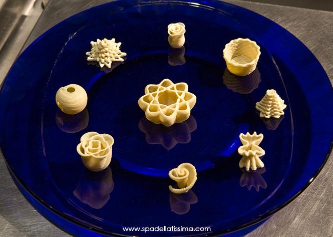 Barilla-Sponsored 3D Printed Pasta Competition [Source: Spadellatissima ]