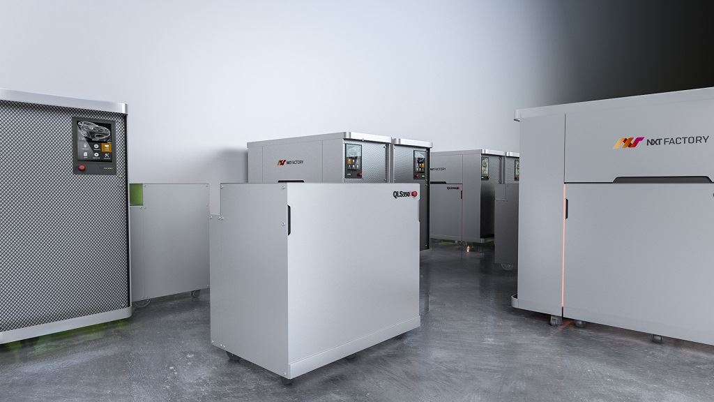 , NXT Factory's Intelligent SLS 3D Printing