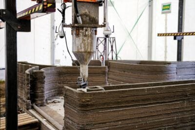 Source: COBOD  Robotic 3D Construction Utilizes Free Forms