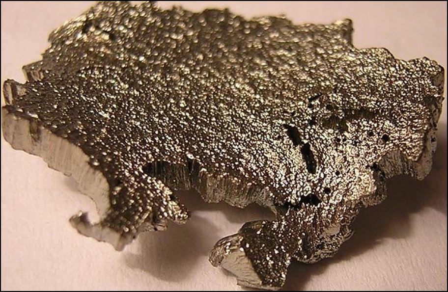 [Scandium / Source: Wikimedia via Aluminum Insider ]