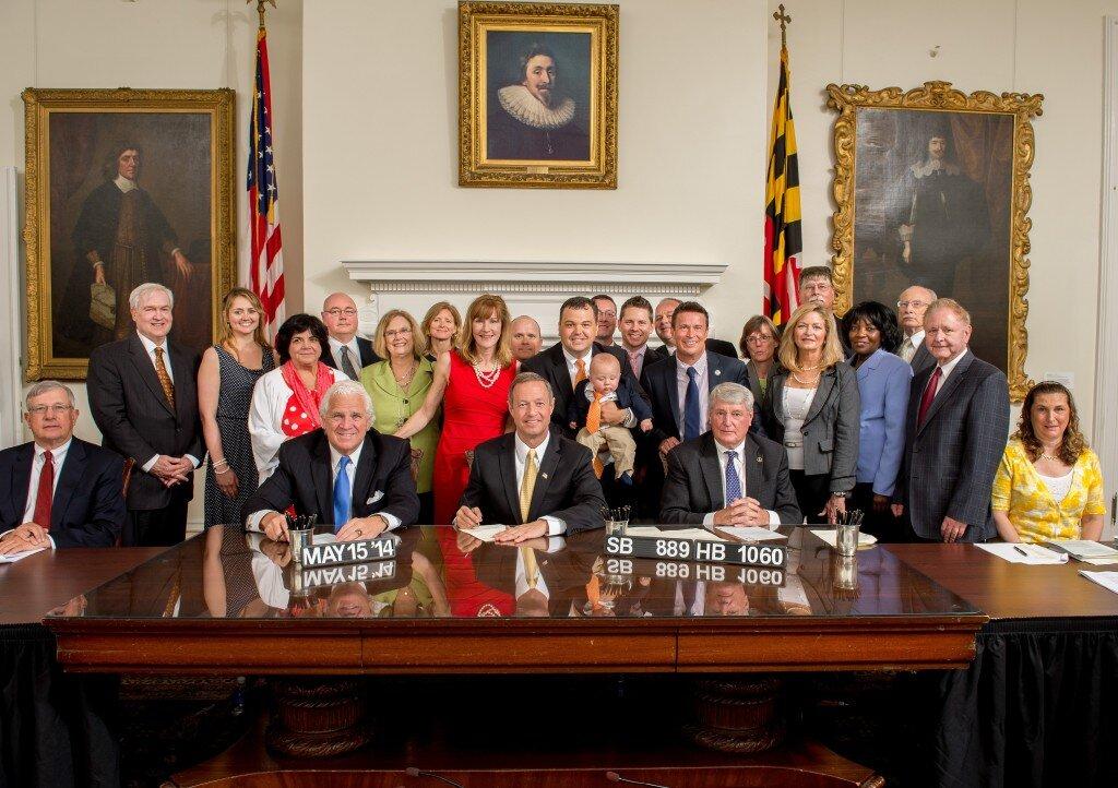 Maryland legislators creating RAMPMD [Source: RAMPMD]