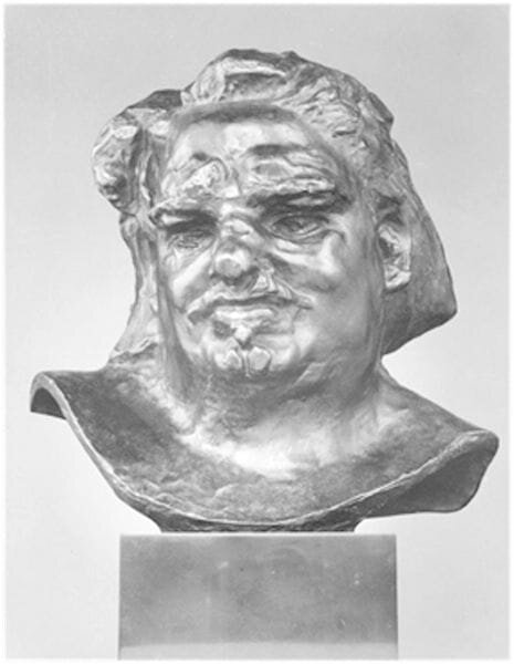 Classical bust sculpture [Source: Picryl]