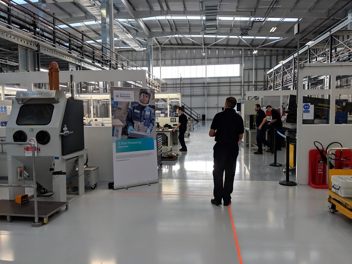 Inside Materials Solutions' Additive Manufacturing Facility