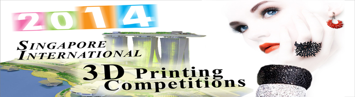 $40K In Prizes for the Singapore  3D Printing Contest!