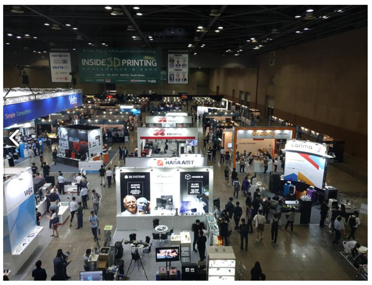 3D Printing convention in Seoul [Source: Inside 3D Printing Seoul ]