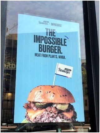 The Impossible Burger [Source:  Flickr ]