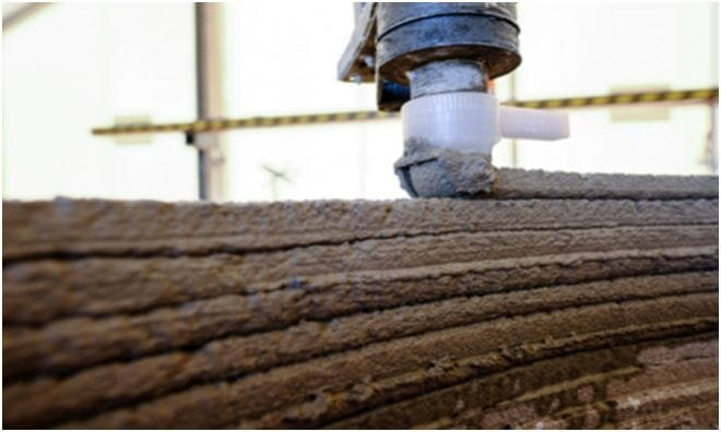 Source: COBOD  3D Printer FORCE Technology Concrete Mix Utilizing Sustainable Materials