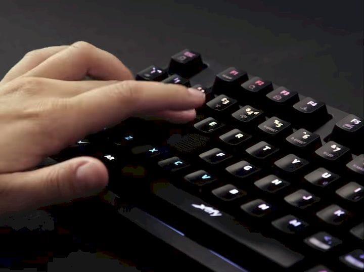 Uppkoppla 3D printed WASD keys [Source: SolidSmack]