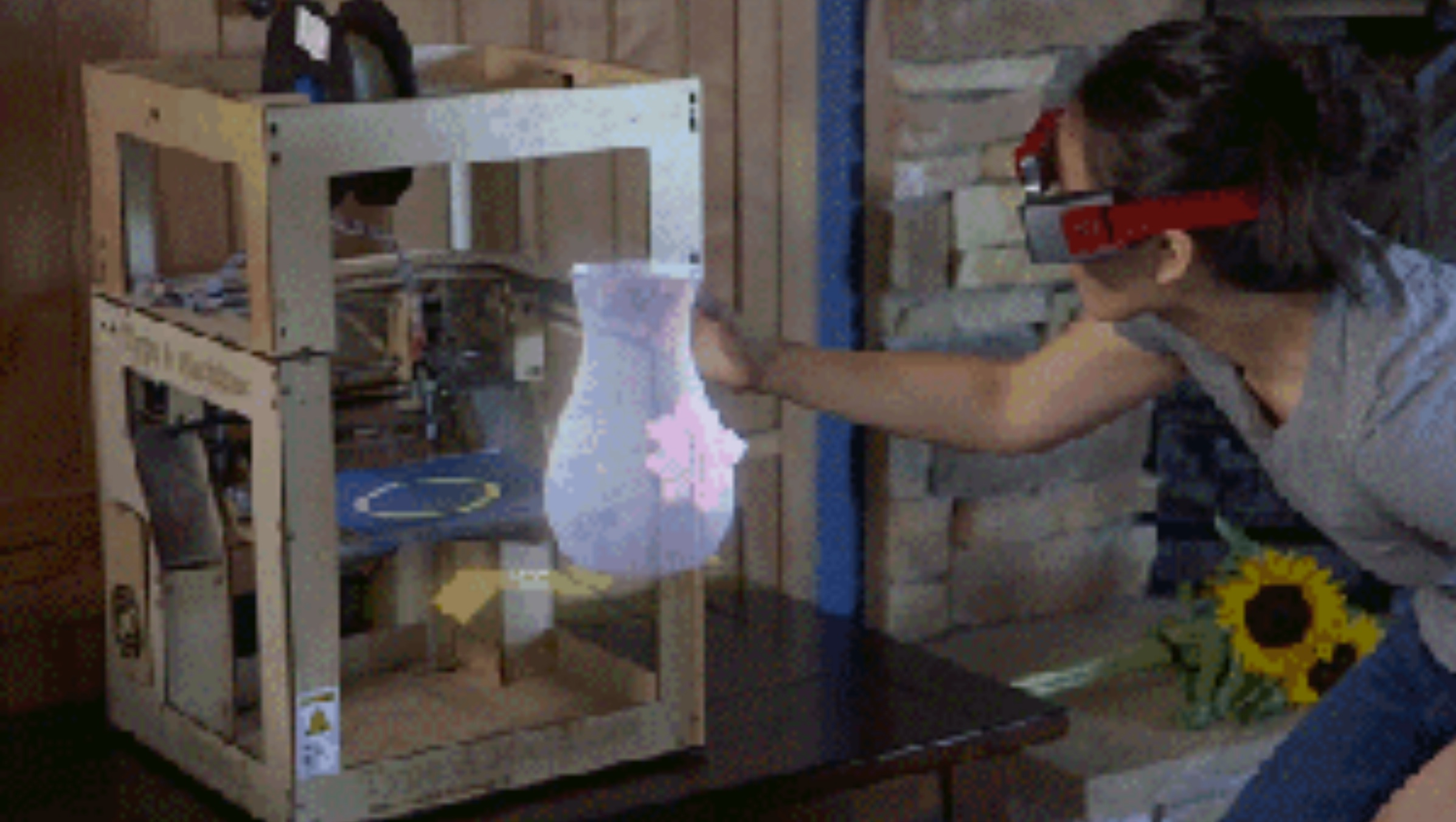 A Virtual Reality Future For 3D Printing?