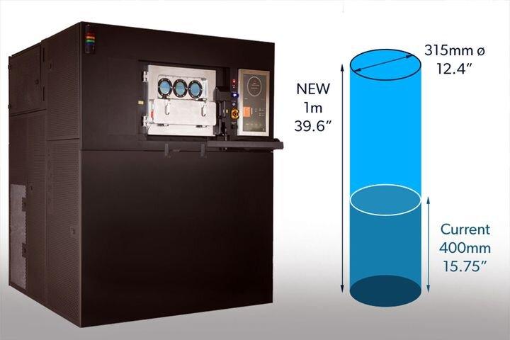 VELO3D's new 1-meter Sapphire metal 3D printer [Source: VELO3D]