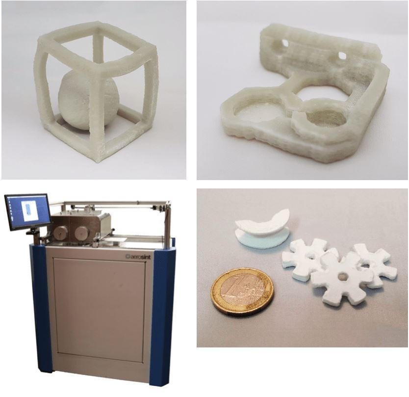 3D Printing Ceramics Without Binders