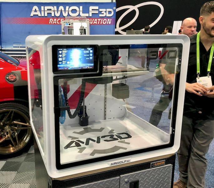 Airwolf's New EVO Professional 3D Printer