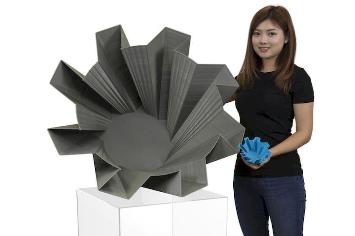 A big 3D print [Source: 3D Platform]
