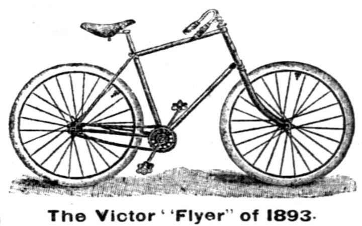Was this the first diamond frame bicycle? CAD and generative design were not in the picture. (Image courtesy of Wikipedia.)