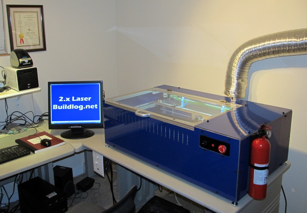 Open Source Laser Cutter