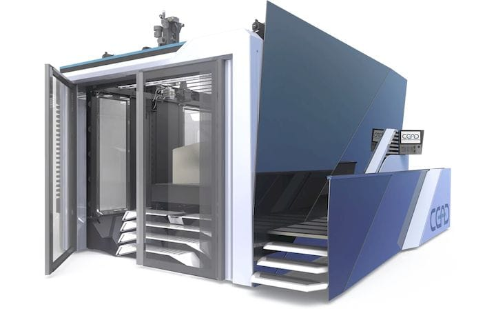 , Continuous Carbon Fiber 3D Printing Gets Massive