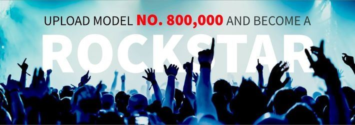 CGTrader's Rock Star Competition To Celebrate Designer Of 800,000th 3D Model