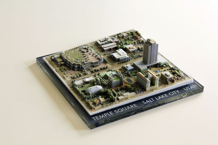 """3D Printing """"Directly"""" from Google Earth"""