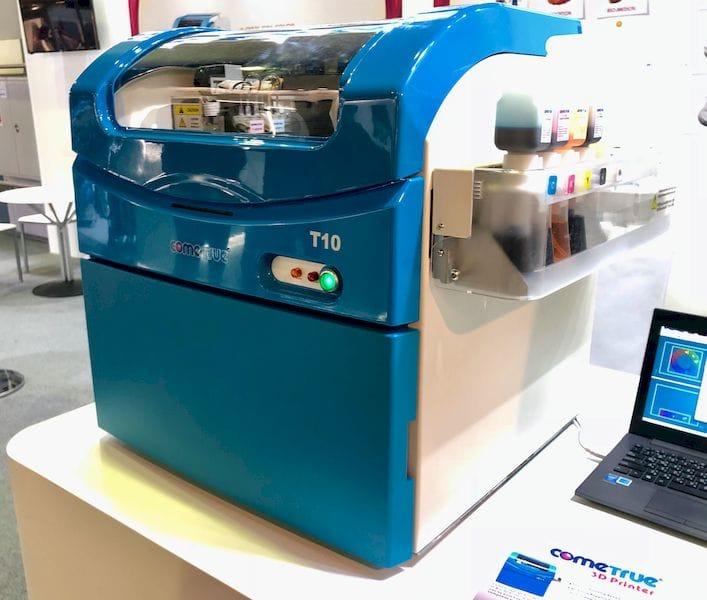 The ComeTrue full color 3D printer [Source: Fabbaloo]