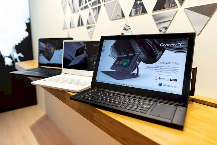 , Acer Powers Up Their Concept D Laptops With NVIDIA RTX GPUs